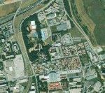 Vue aérienne du Palais des Sports Jean Weille de Nancy
